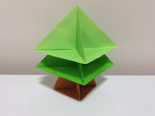 ハート 折り紙 折り紙ツリー立体 : ehonwork.com